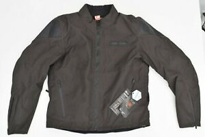 New Icon 1000 Squalborn Motorcycle Jacket Waterproof Espresso Medium D3O