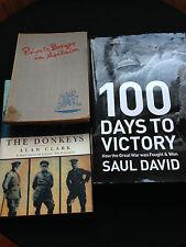Three Military Books