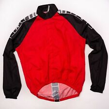 ASSOS Wind Ligthweight Cycling Jacket Red Size III, XL