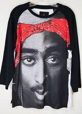 Maxi Milian long sleeve T-Shirt 2 Pac Shakur large L rap