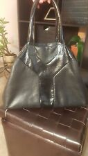 AUTHENTIC Yves Saint Laurent Women's Handbag black BD52N 1000