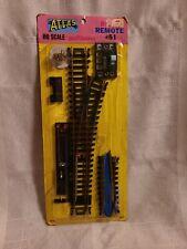"Atlas HO Scale. # 51, Brass 18"" Radius Right Hand Remote Switch Turnout NIP"