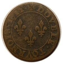 LOUIS XIII Double tournois 1612 A