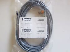 BALLUFF BKS-S20-5-05 CABLE 5 METER WITH 4 PIN, 3 LEAD CONNECTOR