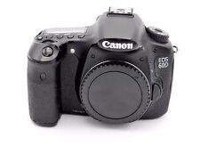 Canon EOS 60D 18.0MP Digital SLR Camera - Black (Body Only) SHUTTER COUNT: 3110
