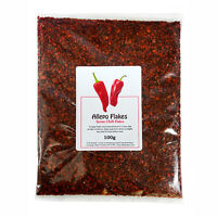 Dried Chilli - Genuine Syrian Aleppo Pepper Flakes 100g Free UK P & P