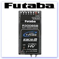 Futaba R3008SB 8ch Rx T-FHSS (S-Bus) (HV) 2.4GHz P-R3008SB (RB406673)
