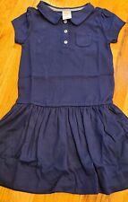 Nwt Gymboree Uniform Shop Navy Blue Polo Dress New Girls Size S 6