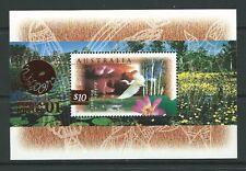 AUSTRALIA 1998 $10 BIRD MINIATURE SHEET PHILANIPPON '01 UNMOUNTED MINT