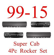 99 15 4Pc Left & Right, Front & Rear Rocker Panel, Ford Super Duty, Extended Cab