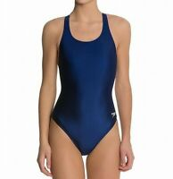 Speedo Womens Swimwear Navy Blue Size 8 Super Pro LT Sport One Piece $39 046
