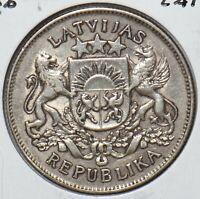 Latvia 1926 2 Lati 295464 combine shipping