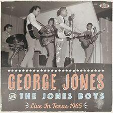 Jones,George & The Jones Boys - Live In Texas 1965 [New CD] UK - Import