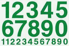 PLANCHE A4 TUNING QUAD 22 AUTOCOLLANT CHIFFRE VERT FONCE 7 X 4,5 CMS