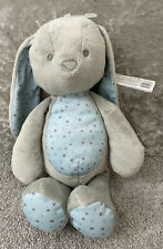 BNWT Tesco Carousel Grey & Blue Cuddle Bunny Rabbit