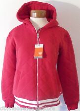 NWT Nike Womens Full-Zip Hooded Varsity Jacket M Red MSRP$80