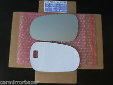 552LF Acura EL TL Integra Honda Civic Prelude Mirror Glass Driver Side LH + Pad