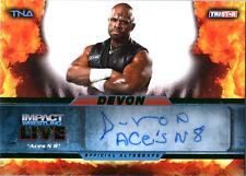 TNA Devon L11 2013 Impact Wrestling LIVE GREEN Autograph Card SN 20 of 50