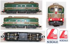 LIMA 201 RETRO '1985 D341 FS Italiane PERSONALIZZATO con MOTORE CENTRALE SCALA-N