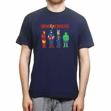 King of the Super Heroes on a Hill Avenger T shirt - Mens Womens Kids Tshirt Tee