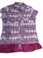 White Stuff Ladies Red Cranberry Blouse Top Size  8 10 12 14 BNWT