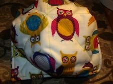 Microwave Bowl Holder Bowl Cozy Bowl PotholderBlue Poke a Dot Owl Bowl Cover