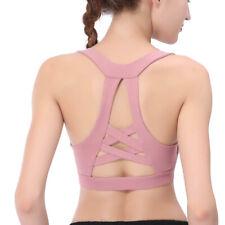 BIRDNANA Women's Sports Bra Yoga Fitness Cross Beauty Back Yoga Vest Underwear