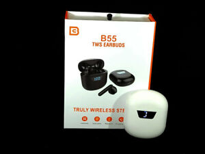 TWS B55 Bluetooth Sports Stereo Earbuds with Microphone
