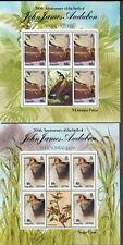 Anguilla Sc#613-6 M/NH, Birds Set/4 Sheets/5+Label, Cv. $66