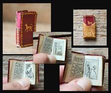 1815 Miniaturbuch Miniature Book Etrennes miniature pour l'annee 1816 8 Plates