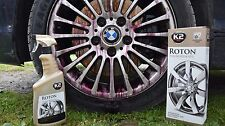 ROTON 700ml K2 BLOOD ALLOY WHEEL CAR PAINT CLEANER IRON REMOVER CONTAMINENT