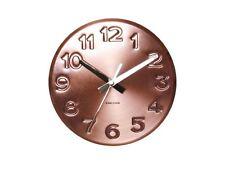 Karlsson Bold Grabado Números Reloj de pared acero cobre Moderno Diseñador