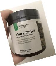 Nutra Thrive Feline Nutritional Supplement 30 Scoops Whole Body Cat Health