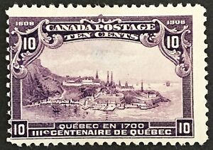 """Lot58 Canada Stamp 101 """"thin"""""""