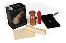 NEW Game of Thrones: Hand of the King Wax Seal Kit (Miniature Editions)