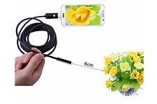 Seb Telecamera Endoscopica Micro USB - 10m, Nera (BES-24451)