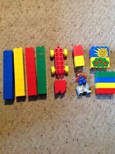 Pre Owned Lego Duplo Small Lot Of 49 Pieces. Lot #86. See Pics.