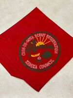 Chin-Be-Gota Scout Reservation Red Camp Neckerchief - Kedeka Council