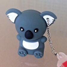 pendrive 16gb Koala Gris 3D USB Pen drive 16 gb memoria muñecos animal