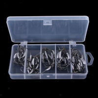 50pcs Weighted Superline Spring Hooks Jig Head Fishing Hook for Soft Lures