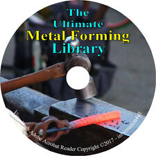 Metal Work, Metal Form, Forge, Foundry, Metallurgy, Furnace, Alloys - Books DVD
