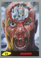 Mars Attacks The Revenge Silver [10] Base Card #22 Headshot