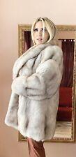 2XL White Fox  Fur Jacket