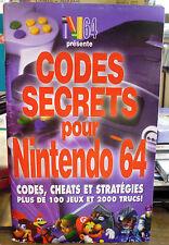 N64 présente Les CODES SECRETS POUR NINTENDO 64 + de 100 jeux * 065385938959