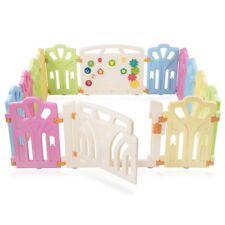 Baby Vivo Parc Bébé en Plastique avec Porte 155x155x59cm (44534550)