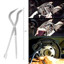 1x Auto Brake Spring Plier Car Repair Brake Plier Garage Workshop Tool Silver