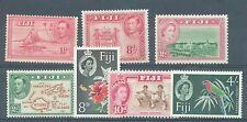 Fiji 1938-63 sg.251, 261d, 283 Gomma integra, non linguellato e sg.254, 304-5, 308 MH