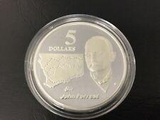 1994 $5 silver coin Sir John Forrest - ex masterpieces set