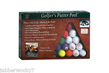 "Club Champ ""Golfer's Putter Pool"" Plays like Golf - Shoots like Pool! Party Game"