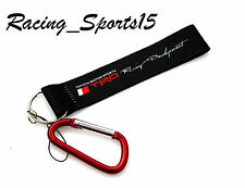 JDM TRD Racing Wrist/Palm Lanyard Cell Holders Keychain Carabiner - RED